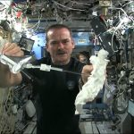 Space: Wet Washcloth In Space – What Happens When You Wring It? | Video